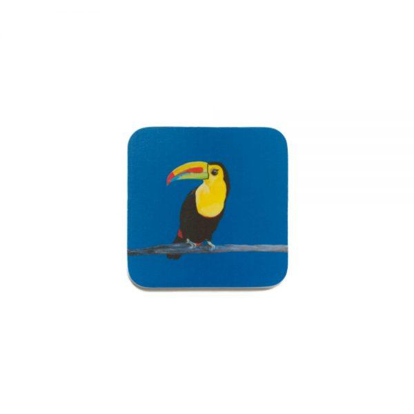 Taj the Toucan Coaster