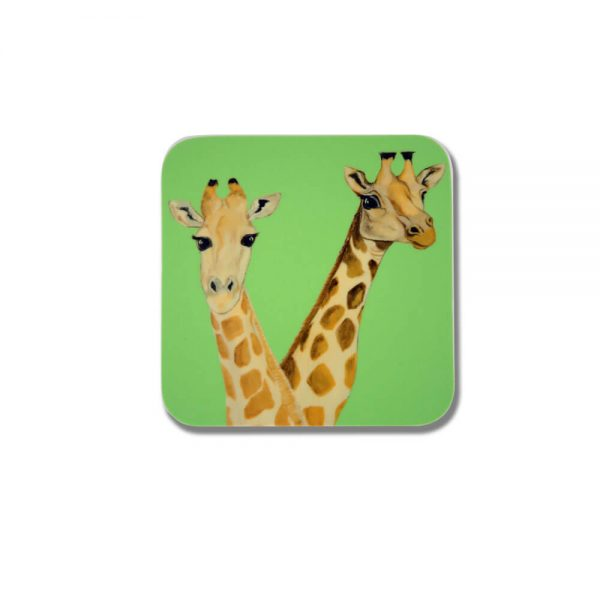 Giraffe Design Melamine Coaster