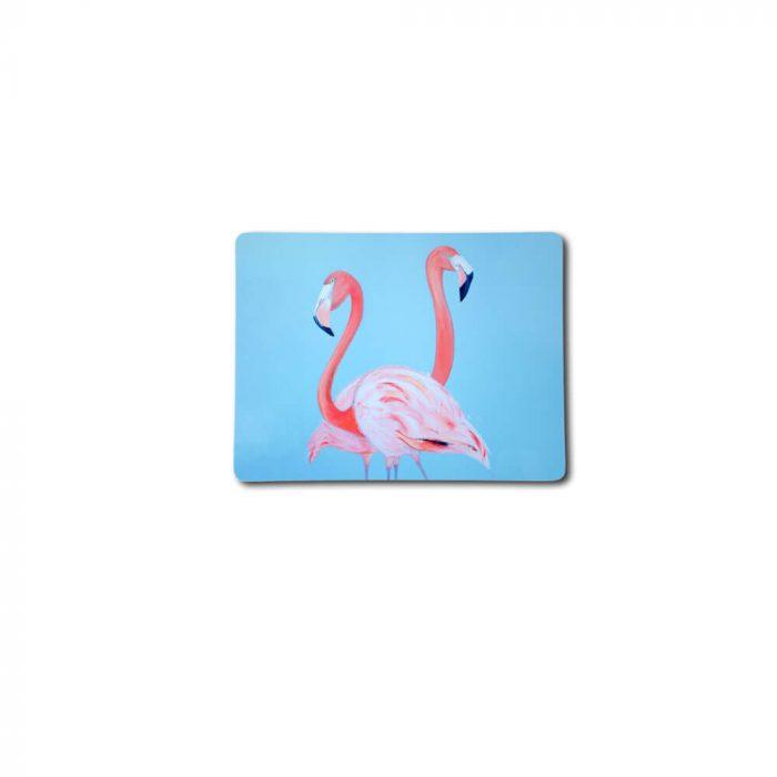 Ostrich design melamine coaster