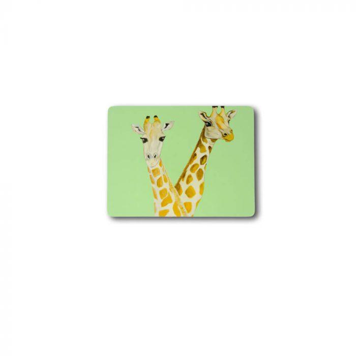 Giraffe Design Melamine Placemat