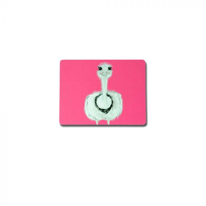Ostrich Design Melamine Placemat