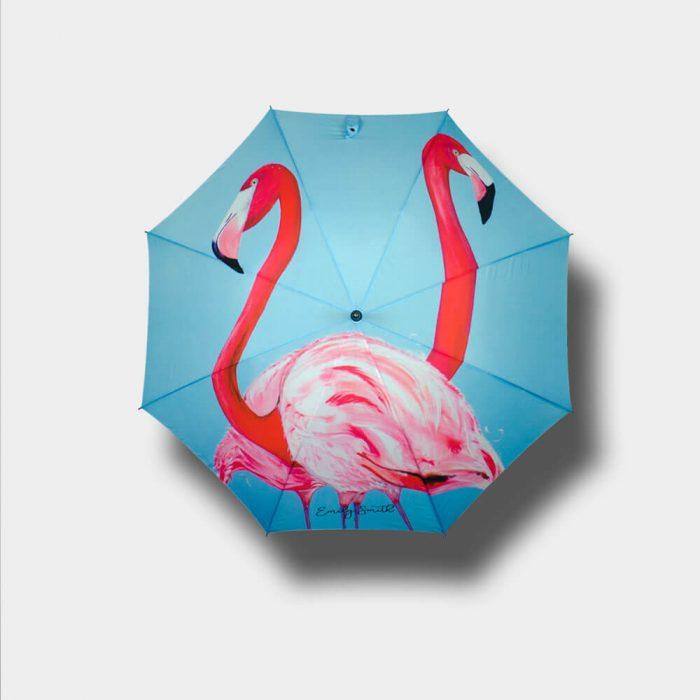 Flaming Print Umbrella