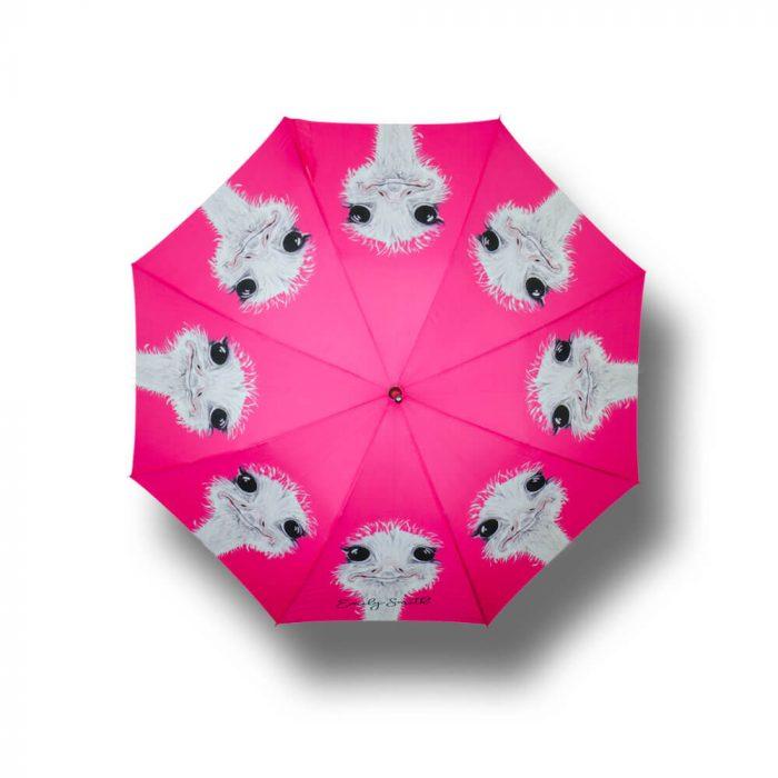 Ostrich print Umbrella