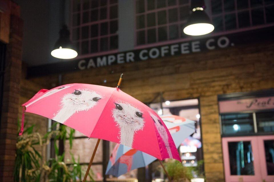 Launch Party umbrella