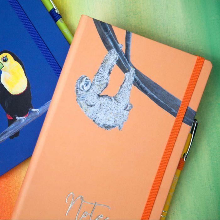 Sloth Notebook & Pen