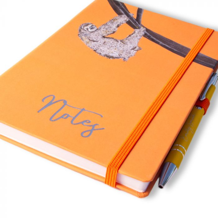 Stelle the Sloth Notebook and Pen Image 2