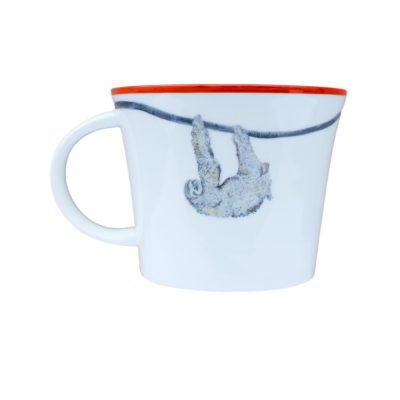 Stella the Sloth Bone China Mug