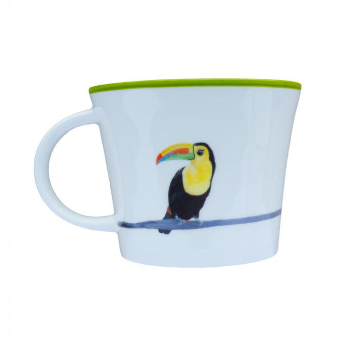 Taj the Toucan bone china Mug