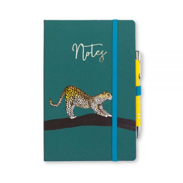 Leopard Print Notebook & Pen